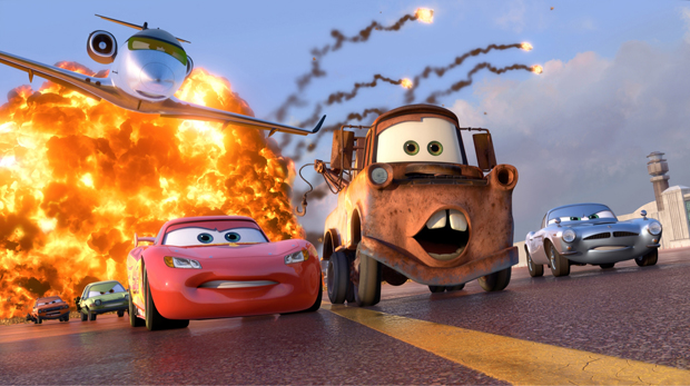 Cars 2 And Stranger Tides Go Blu Immersed In Movies